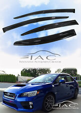 For SUBARU WRX STI 2012- MUGEN 3D Window Visor Vent Sun Shade Rain Guard Visor