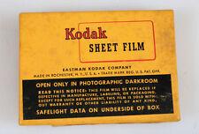 KODAK PANATOMIC SHEET FILM 25 SHEETS IN UNOPENED BOX (2-1/4x3-1/4)