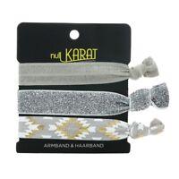 Null Karat elastisches Armband Haarband Ethno Festival schmuckrausch