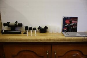 """.965"""" Telescope 3 Eyepiece Moon Finder Diagonal Replacement Kit 6mm 12.5mm 20mm"""