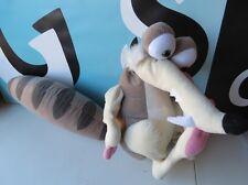 "Ice Age 2 Squirrel 17"" Scrat Nanco Posable Hard Plush Doll"