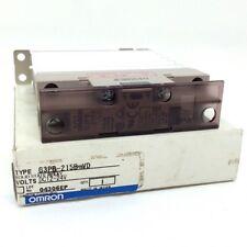 OMRON Relè g3pb215b g3pb-215b-vd-dc12-24v