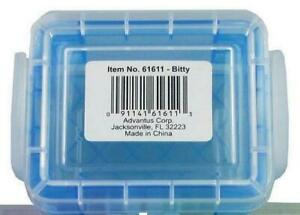 "One Storage Studios Super Stacker Bitty Box Pick Blue or Purple 1.4""X2.5""X3.4"""