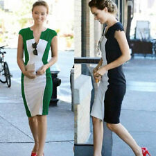 Formal Solid Regular Size Short Sleeve Dresses for Women
