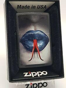 Original Zippo - Snake Tongue and Lips - 2015 -  Neu 60000535