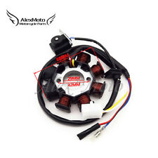 8 Coils AC Magneto Stator For GY6 49cc 50cc 139QMB Moped Scooter Sunl Roketa