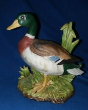 Male Mallard Duck Figurine porcelain