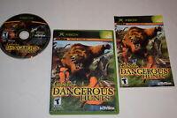 Cabela's Dangerous Hunts Microsoft Xbox Video Game Complete