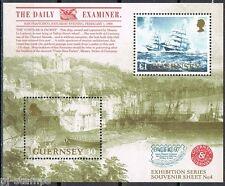 Guernsey blok 19 Pacific 97 zeilschip sailing ship  cat waarde € 4,50