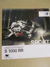 CATALOGUE MOTO : BMW : S 1000 RR   07/2013
