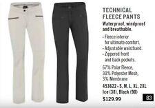 NEW SKI-DOO TECHNICAL FLEECE PANTS LADIES XL - 4536221290