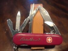 """Wenger Adventurer Locking blade  Swiss Army Knife Red """"Eddie Bauer"""", 85mm"""