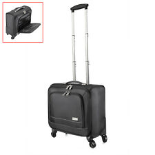 "16"" 4 Wheels Travel Carry On Luggage Laptop Trolley Bag Business Suitcases Bag"