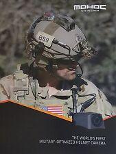 MOHOC Elite OPC Camera World's First Military Optimized Helmet Camera Data Sheet