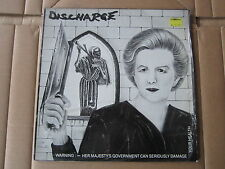"DISCHARGE Warning E.P. CLAY 12"" RARE 1983 ORIGINAL UK 1ST PRESSING PLATE5"