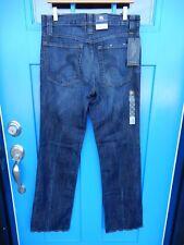 NWT ROCK & REPUBLIC Verve Straight Leg Neil Jeans Mens Sz 32 x 34 Dark Denim NEW