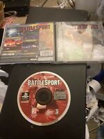 BattleSport Sony PlayStation 1 Rare HTF PS1 Complete