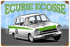 Ecurie Ecosse Drag Race Car Metal Sign Man Cave Garage Body Shop Club TNY007