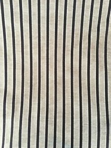 Light Dark Brown Vertical Striped Upholstery Fabric Material 140cm wide No.255