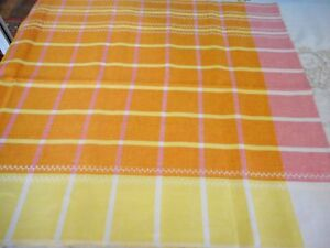 Vintage Retro  Tablecloth - Used but in excellent condition
