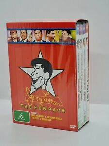 Jerry Lewis The Fun Pack DVD Rock A Bye Baby,Family Jewels,Cinderfella,The Patsy