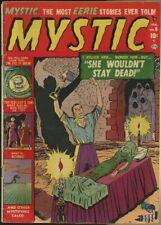 MYSTIC #6 (1952) VG+ 4.5   PRE-CODE HORROR!  BASIL WOLVERTON!
