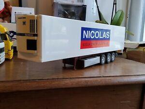 Remorque transport nicolas camion eligor lbs 1/43