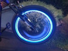 New LED 20 Flash Lights Bicycle Motorcycle Bike Tire Wheel Valve w/Battery BLUE