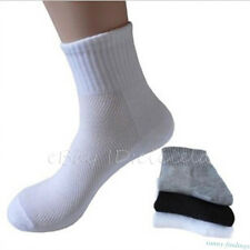 5 Pairs High Quality Soft Men's Sports Cotton Socks Business Casual  Ankle Socks