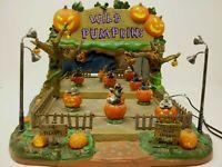 Lemax Spooky Town WILD PUMPKIN Ride 2006 Halloween Sound Animated See VideoBelow