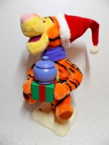 Telco Disney Tigger Motion-ette Christmas Animated Winnie The Pooh Figure 1998