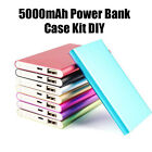 DIY Power Bank Case Kit Cell Box for 5000mah External Battery Charger New