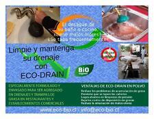 ECO-DRAIN ( Limpiador de drenajes y trampas de grasa - biológico)