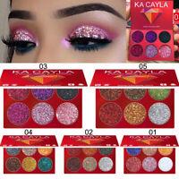 Makeup Eye Shadow Eyeshadow Palette Cosmetic Set Eye Shadow 6 Colors 1 Set CHEN