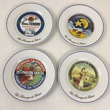 Les Fromages de France Kiss That Frog Cheese Plates Set of 4
