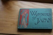 1904 The Wonders of Japan  1st.edition  hardcover