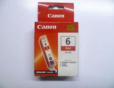 Canon bci-6r bci6r bci-6 R ROSSO RED Pixma ip8500 i990 i9950 SIGILLATO