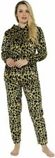 CityComfort Warm Super Soft Cosy Loungewear Animal Print Pyjamas Set for Women