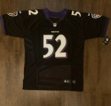 Ray Lewis Baltimore Ravens Mens On Field Jersey Size 52 Free Ship (H)