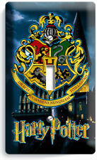 Harry Potter Hogwarts Castle Coat Of Arms Light Switch 1 Gang Wall Plates Decor