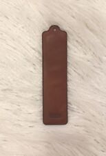 Coach Leather Bookmark