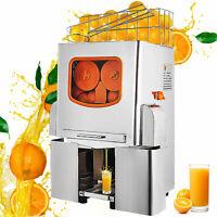 Electric Commercial Orange Juicer Squeezer Juice Machine Citrus Press Shop