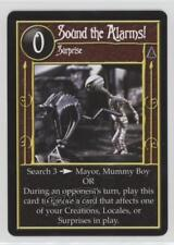 2005 The Nightmare Before Christmas #NoN Sound the Alarms! Gaming Card 2a1