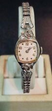 Vintage ladies Benrus 10k RGP gold plated mechanical hand wind watch