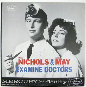 MIKE NICHOLS & ELAINE MAY Examine Doctors LP 1962 COMEDY NM- NM-