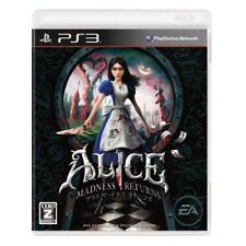 Used PS3 Alice: Madness Returns Japan Import