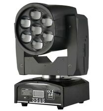 7x12W Quad Zoom Wash Beam LED Moving Head Light for DJ Stage Disco Event Party