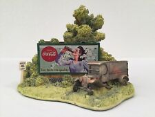 Coca Cola Hazards Of The Road 893 Lilliput Lane Autographed By Ray Day