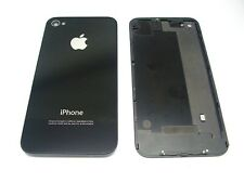 Black back glass replacement for Apple iPhone 4, with screwdriver and screws ...