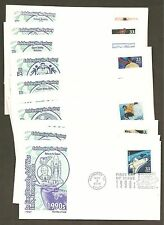 #3191 a-o Celebrate the Century 1990's Set of 15 Artmaster FDC's